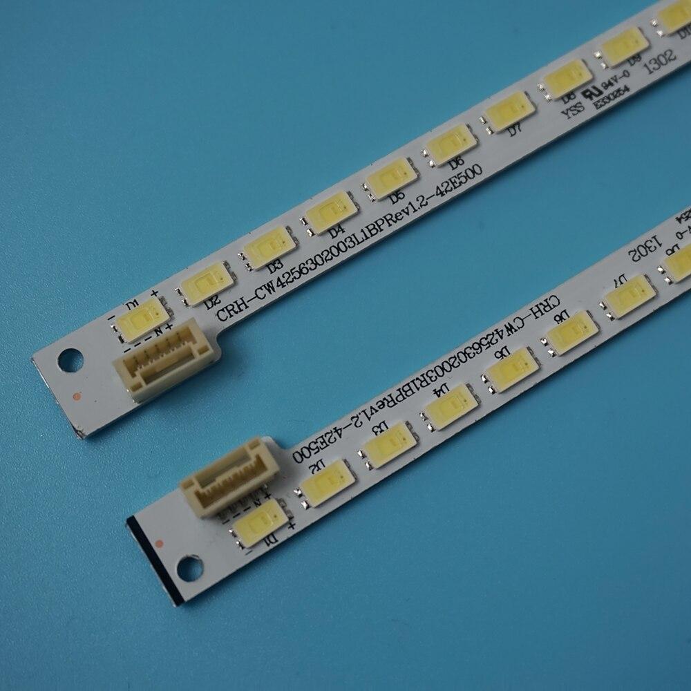 LED الخلفية ل Skyworth 42 ''التلفزيون 42E500E CRH-CW4256302003R1BP Rev1.2 42E500 7710-642000-R080 L080 شاشة REL420FY E330254