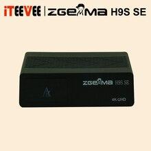 ZGEMMA H9S SE Обновление от H9S Bluit в 300 м WI FI DVB S2X в формате 4K UHD цифра спутниковый телевизионный ресивер с CI T2 MI для Украины космическая