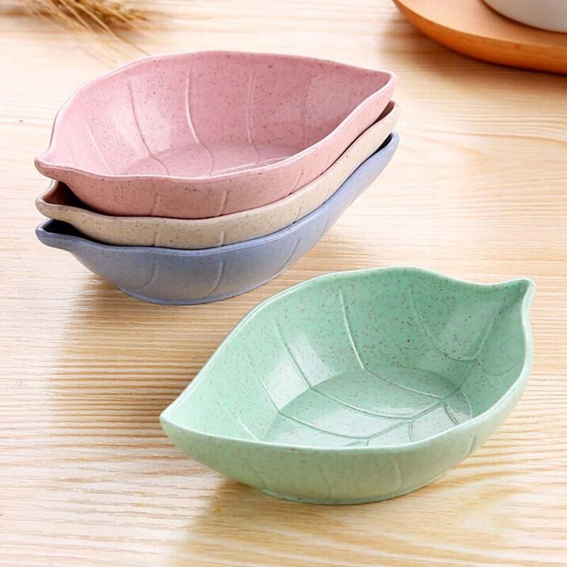 Креативная тарелка для детей, чаша для детей, пшеничная соломенная тарелка для соевого соуса, тарелка для риса, подтарелка, японская посуда, контейнер для еды