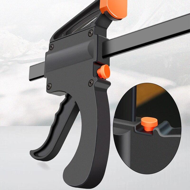 Zacisk drążka roboczego, zacisk F, narzędzie DIY ręczne - Zestawy narzędzi - Zdjęcie 3