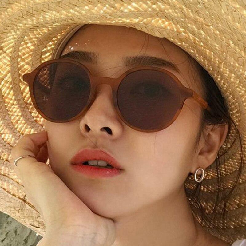 Gafas de sol redondas 2020 para mujer, Gafas clásicas Retro Vintage con...