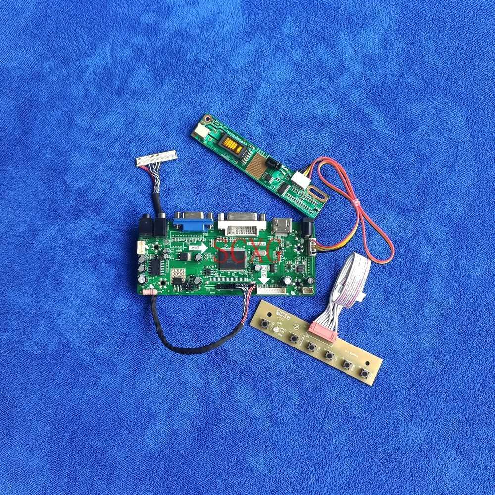 1280*800 LVDS 30 دبوس صالح LP141WX1-TL01/TLA1/TLB1/TLC1/TLE1 MNT68676 كارت قيادة لتقوم بها بنفسك عدة 1CCFL DVI VGA HDMI متوافق مع شاشة الكريستال السائل