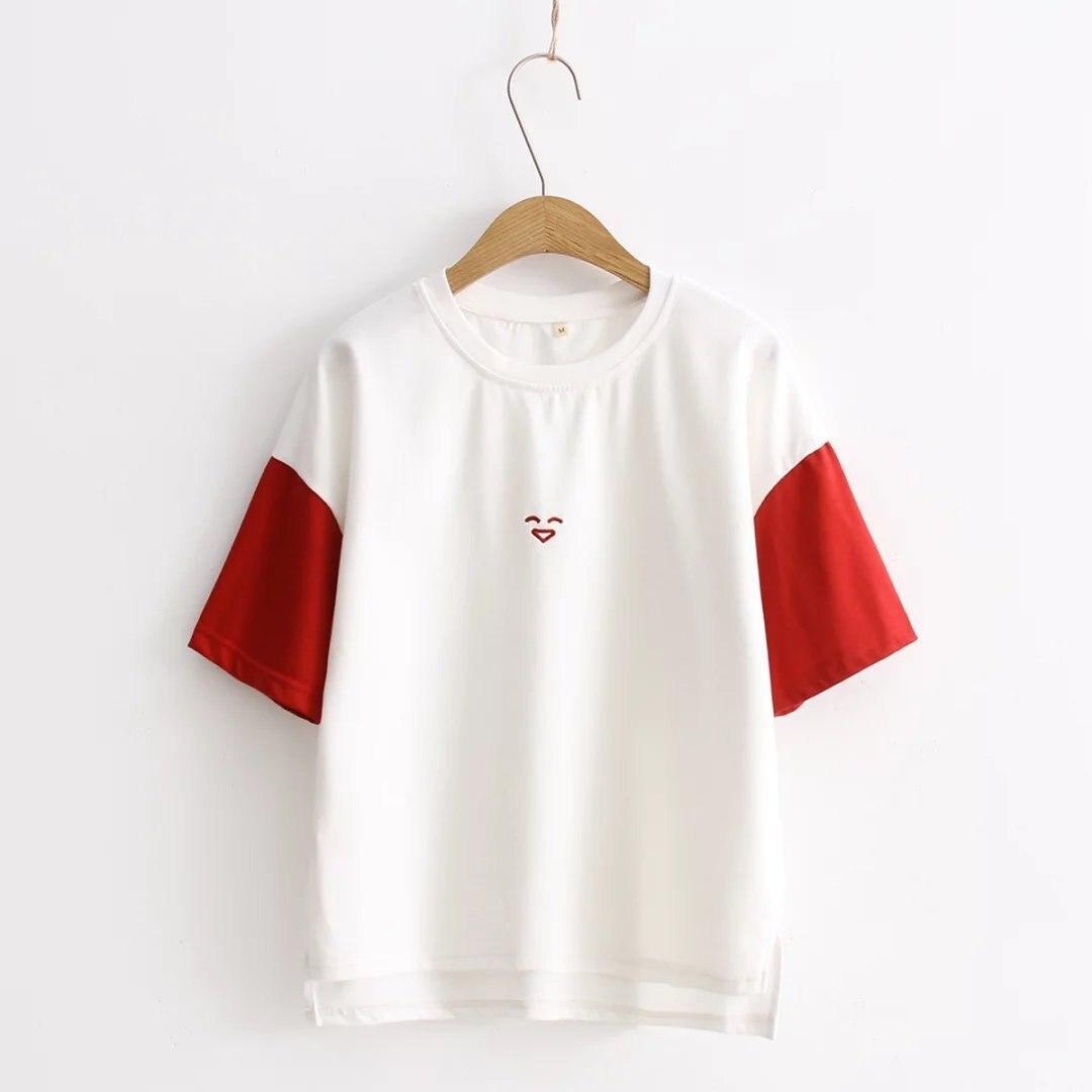 T Shirt Women O Neck Short Sleeve Summer t Shirt Casual Female Ladies t shirt leisure small