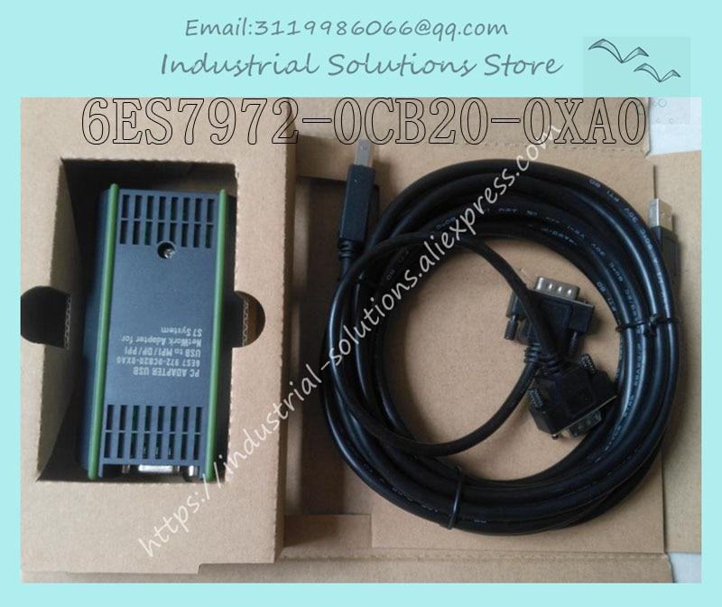 PC adaptador USB 6ES7972-0CB20-0XA0 ganar 7/8 840D CNC PPI/MPI/DP nuevo