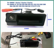 Caméra de protection arrière pour BMW E60 E61 E70 E71 E72 E82 E88 E84 E90 E91 E92 E93 X1 X5   Caméra de sauvegarde pour Parking