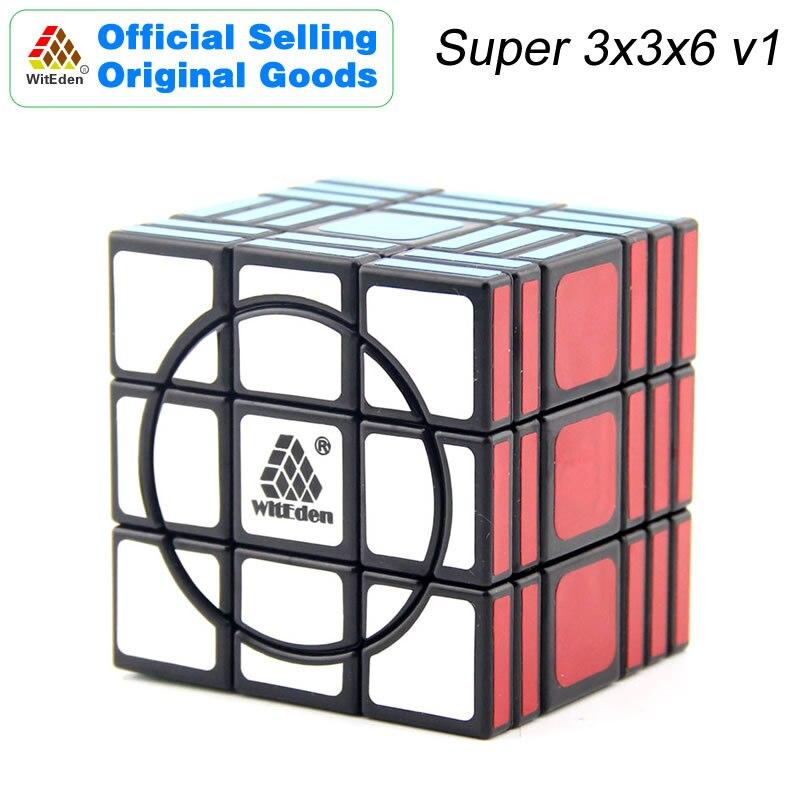 Witeden super 3x3x6 cubo mágico v1 336 cubo magico velocidade profissional neo cubo quebra-cabeça kostka antiestresse brinquedos para crianças