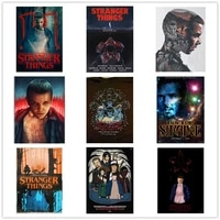5d diy diamond painting stranger things picture squareround full diamond mosaic embroidery cross stitch kit home decoration