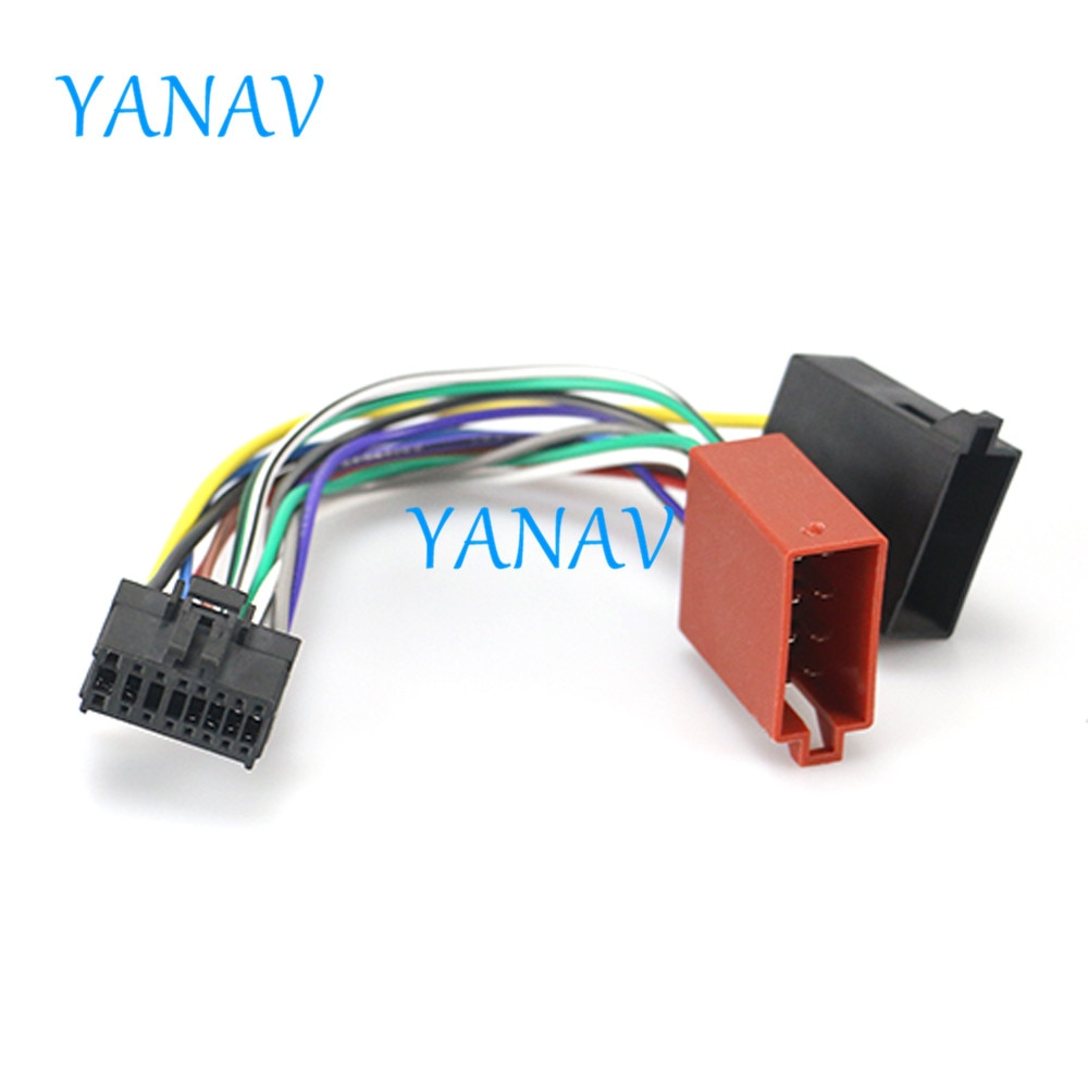 Cable de cabeza de arnés ISO para coche 15-106 para PIONEER DEH Serie P, adaptador de Cable de Radio Estéreo, conector de Cable de conexión, Cable de coche estéreo Radi