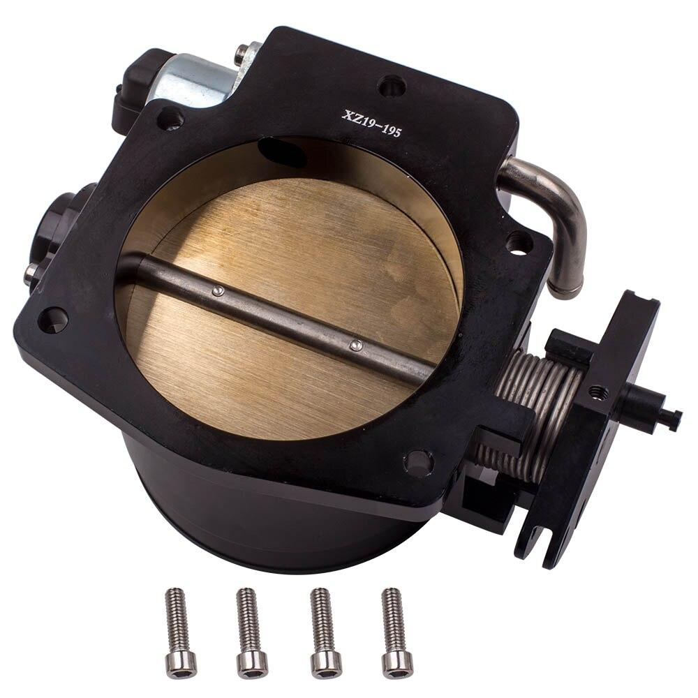 1218 CFM 92mm cuerpo del acelerador + TPS IAC Sensor de posición de Control para GM GEN III LS1 LS2 LS3 LS6 LSX pernos