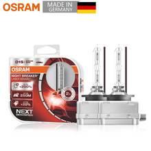 OSRAM D1S Xenon Hernia lamp night breaker laser next generation Super Bright Car Headlight Original HID 35W 12V  (2 pieces)