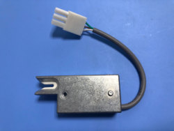 QDC Elasticizer Sonda Detector de Fio Cortador de Fio Acessórios de Máquinas Têxteis Com Plug de Saída NPN Sensor de Fio Terra Fio QDC