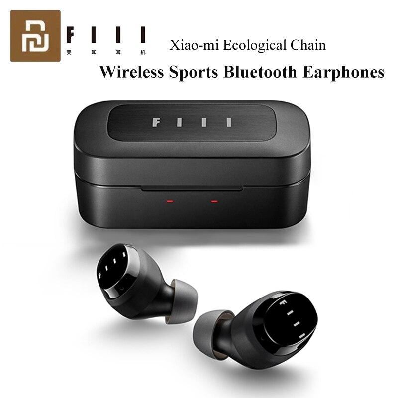 Esportes sem Fio Fones de Ouvido Ruído com Microfone Youpin Fiil Verdadeiro Bluetooth Bluethooth 5.0 Fone Redução Controle Toque T1x