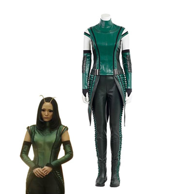 Костюм для косплея мантиса из фильма «стражи галактики 2», костюм супергероя на Хэллоуин, зеленый костюм для взрослых и женщин, Индивидуальн...