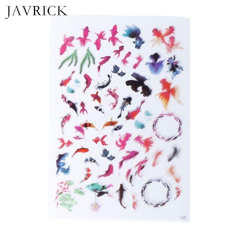 Resina UV epoxi resina artesanía Material relleno pegatina Floral colorido translúcido cristal Animal paisaje DIY joyería herramienta