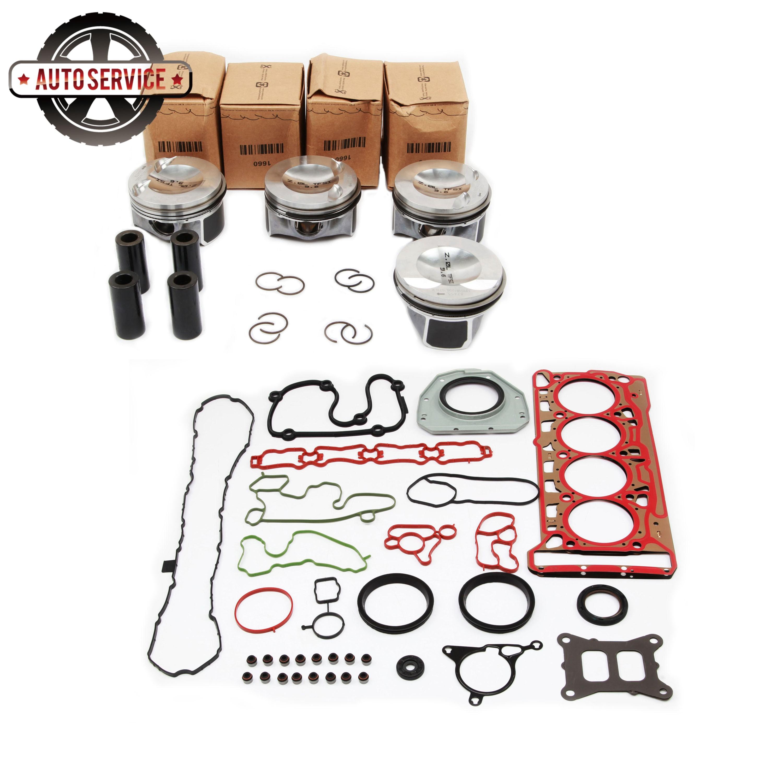 Nuevo 06H107065DD EA888 tercera generación Gngine cilindro Junta pistón Kit para VW Golf Passat Jetta Audi A1 A4 A5 06J103383R