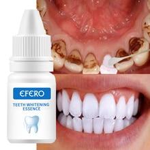 EFERO 치아 미백 세럼 젤 치과 구강 위생 효과적인 얼룩 제거 플라크 치아 청소 에센스 치과 치료 치약