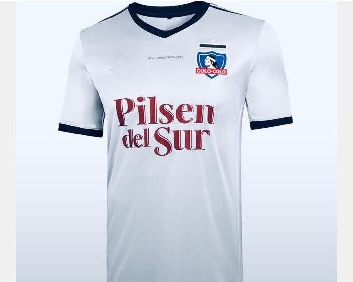 hombres 2020 2021 Colo-Colo camiseta 20 21 casa blanco negro ARRIAGADA Chile...