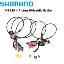 SHIMANO XTR M9100 2piston M9120 4 Piston MTB Bike XTR Hidraulic дисковый тормоз ICE-TECH левый и правый XTR тормоз лучше M9000 M9100