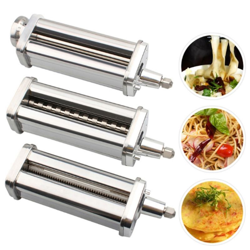 Fideos para delgados/gruesos/escamosos fideos rodillo cortador Pasta procesador de alimentos