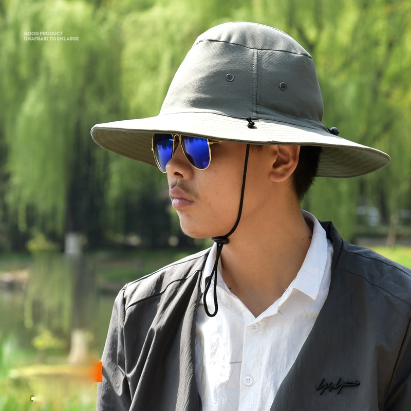 Outdoor Sport Hiking Visor Hat UV Protection Face Neck Cover Fishing Sun Protect Cap Best Quality enlarge