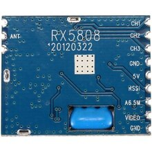5.8G FPV Mini Wireless Audio Video Receiver Module RX5808 for FPV System RC Helicopter RC Parts