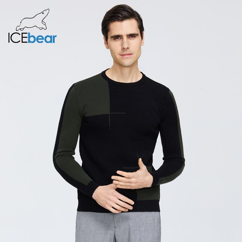 Icebear 2019 camisola masculina de alta qualidade à moda pulôver marca masculina roupas 1717