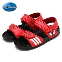 original disney mickey minnie spider man childrens beach shoes velcro sandals childrens shoes kids shoes toddler girl sandals