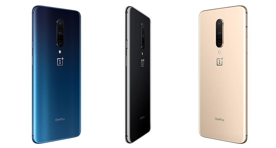 Фото5 - Оригинальный новый телефон Oneplus 7 Pro, телефон с глобальной прошивкой, 10000 ГБ, Snapdragon 256, экран 855 дюйма, 90 ГГц, 2K, тройная камера 48 МП, NFC