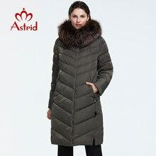 Astrid 2019 hiver nouveauté doudoune femmes avec un col en fourrure vêtements amples vêtements dextérieur qualité femmes hiver manteau FR-2160