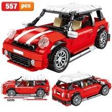 2020 Technic créateur Expert retirer classique MINI voiture blocs de construction ensembles briques modèle pour enfants cadeaux compatibles 10271