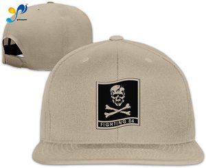Yellowpods Vf 84 Fighting 84 Patch Men's Relaxed Medium Profile Adjustable Baseball Cap