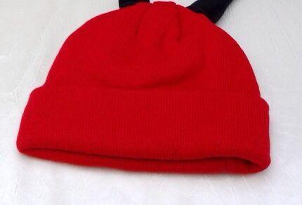1 детская шапка, осень и зима 2019, новая одноцветная вязаная шапка, креативная Милая шерстяная шапка