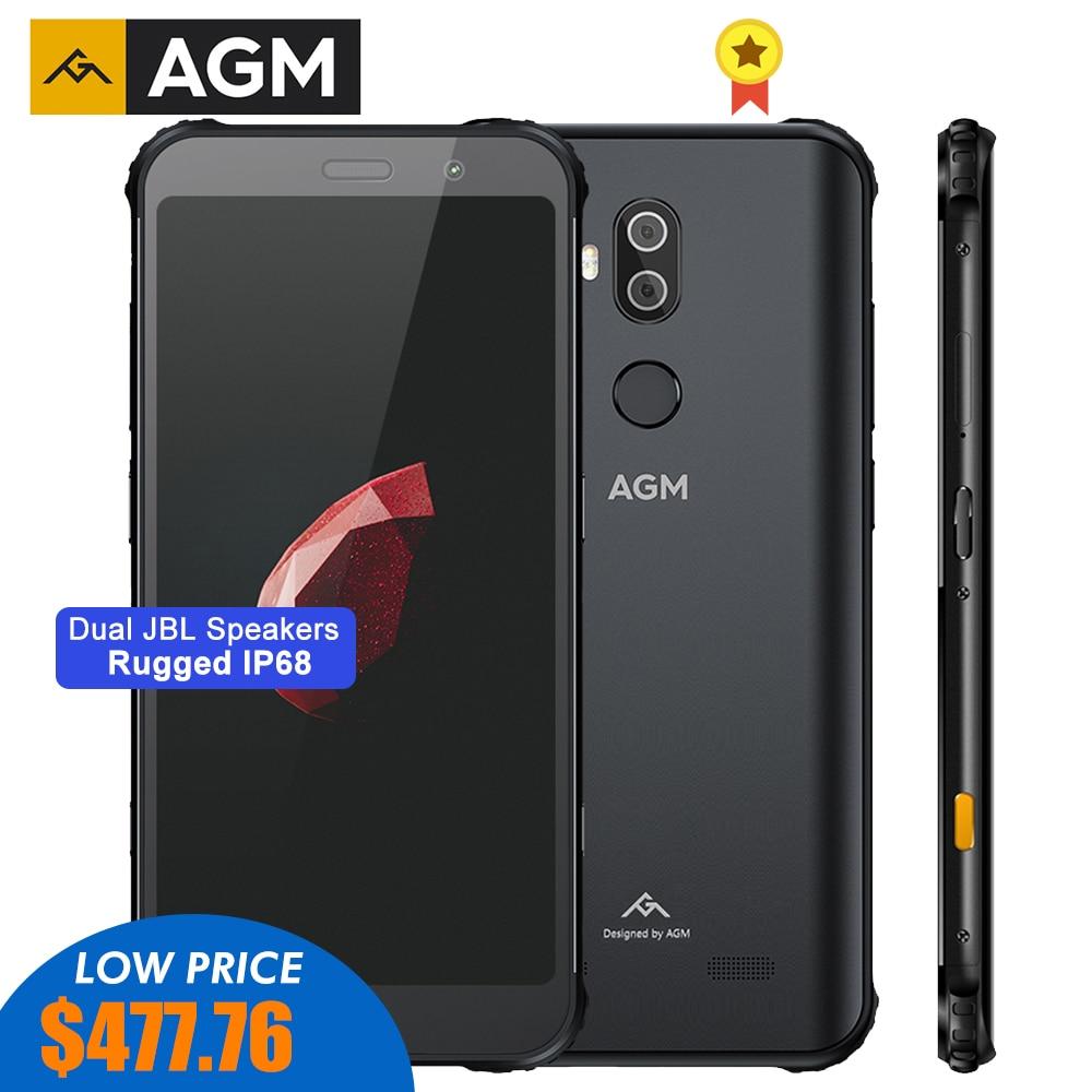 AGM X3 MIL-STD-810G прочный водонепроницаемый смартфон 8 ГБ 128 ГБ Android 8,1 Octa 5,99 дюйм 24MP камера двойной динамик QC3.0 NFC