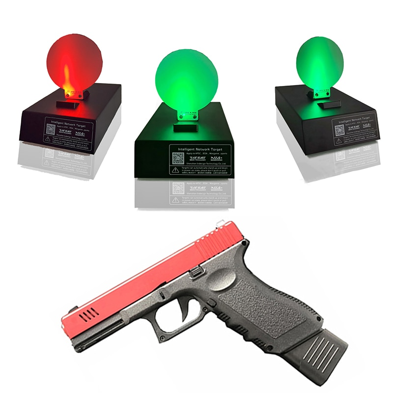 Target System With Laser Simulator Kit Pricision Shooting Auto Reset Electric Target Gun Accessoire for Dry Fire Training