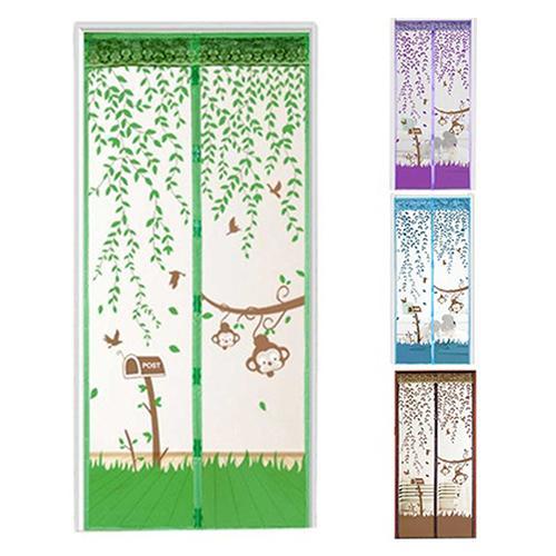 Durável hands-free macio magnético divisores sala cortinas telas anti mosquito divisória divisória telas cortina de malha