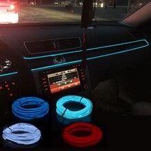 EL Wire-lumière néon lumière de décoration   Pour Mitsubishi Asx Lancer 10 Outlander Pajero Sport 9 Colt Galant Grandis