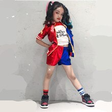 24 heures navire Harley Quinn Costume Cosplay enfants filles femmes adulte JOKER Suicide escouade veste Halloween carnaval Costume