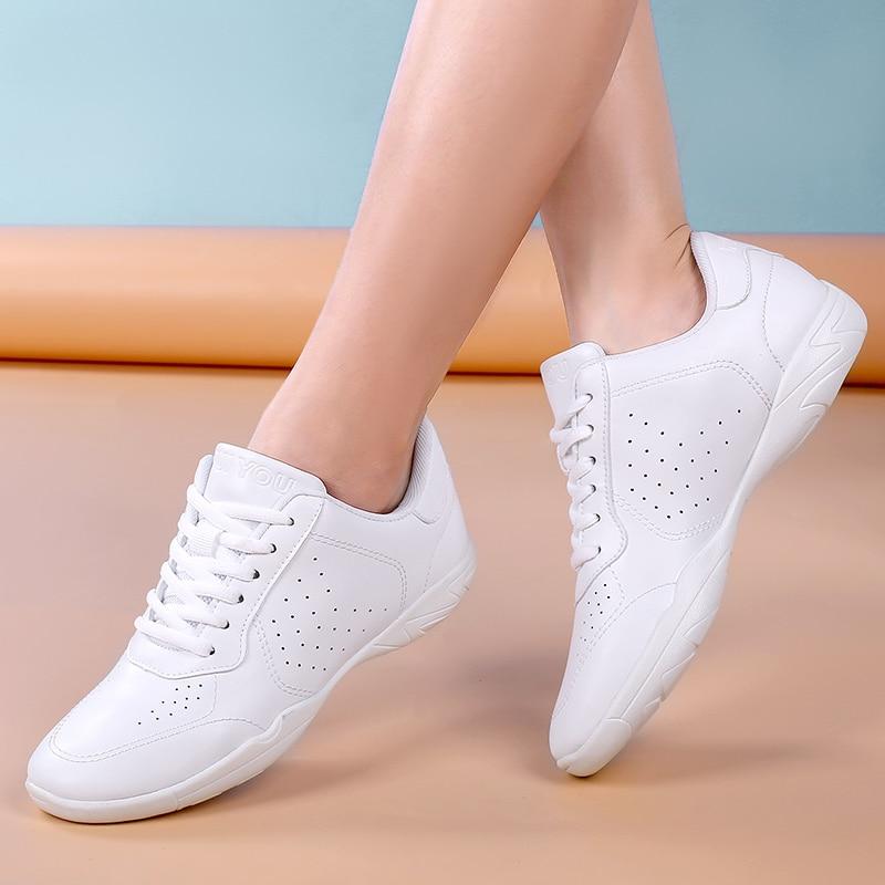 Super fiber leather sports shoes aerobics shoes fitness shoes parent child shoes children sports sho