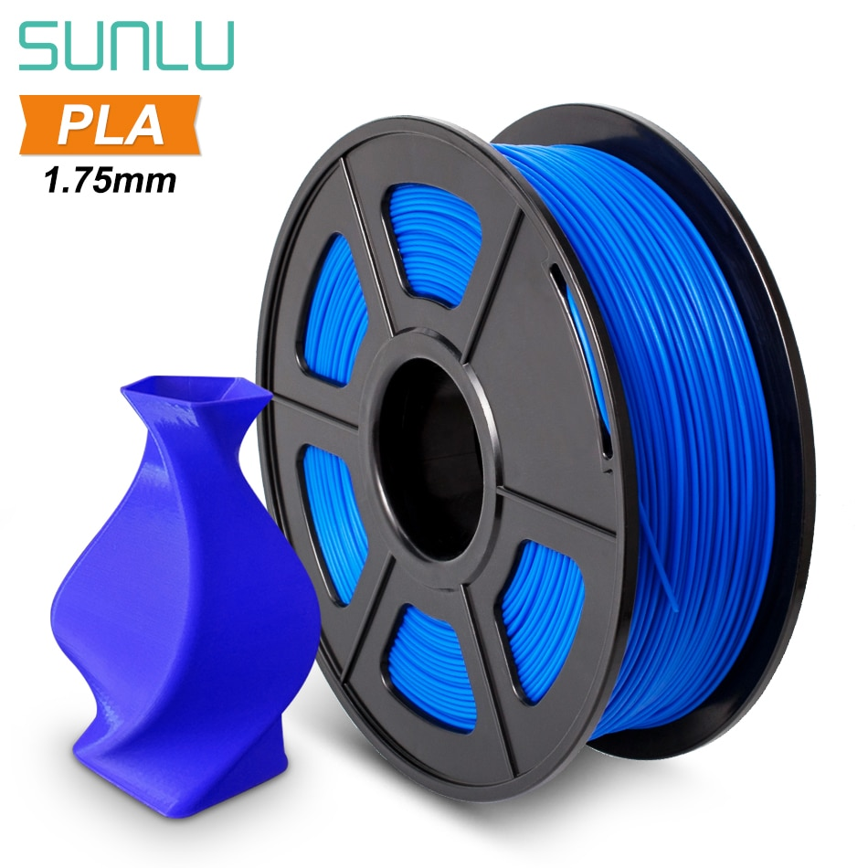 SUNLU 1.75mm PLA Filament 1KG High Quality PLA for 3D printer Accuracy +/- 0.02 mm Fast Delivery