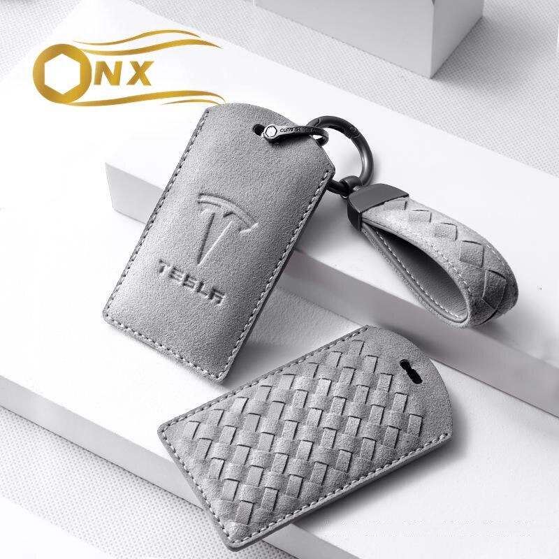 Чехол для автомобильного ключа, аксессуары для телефона, аксессуары для Tesla model3, модные аксессуары для украшения автомобиля