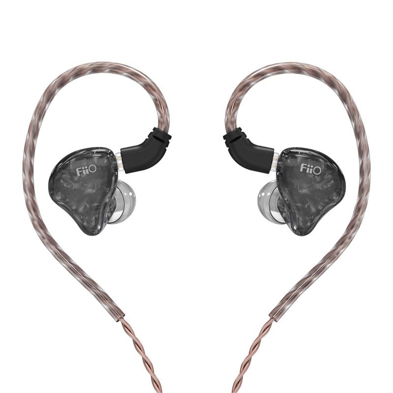 FiiO FH1s Knowles-سماعة أذن ستريو للموسيقى ، سماعة أذن داخلية هجينة ديناميكية 1BA 1 HiFi ، IEM 2pin/0.78 مللي متر كابلات قابلة للفصل