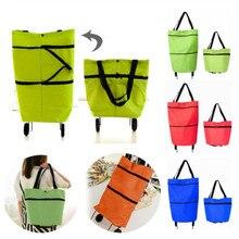 Najnowszy kobiety składana torba na zakupy wielokrotnego użytku Eco duża Unisex tkanina włókniny torby na ramię torby materiałowe spożywcze etui