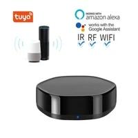 Tuya     telecommande WIFI   IR   RF pour maison connectee  controle vocal Via Alexa et Google Home  Smart Life