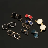 creative fashion beard enamel pin glasses brooch lapel pins for men brooches male mens suit broche vintage brooch 2020 new