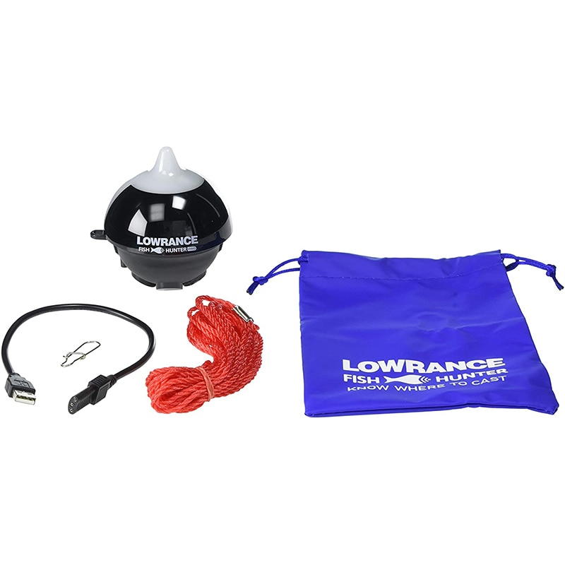 Lowrance FishHunter PRO - Portable Fish Finder Connects via WiFi to iOS and Android Devices enlarge