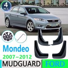 Pour Ford Mondeo MK4 2007 ~ 2012 2010 2011 4 pièces garde-boue avant arrière garde-boue garde-boue