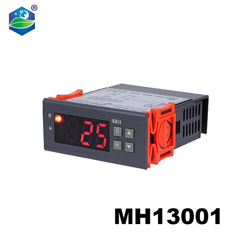 Mh13001 ac110v/ac220v controlador de umidade do ar, digital, 1% rh ~ 99% rh, umidificação e desumidificação da umidificação