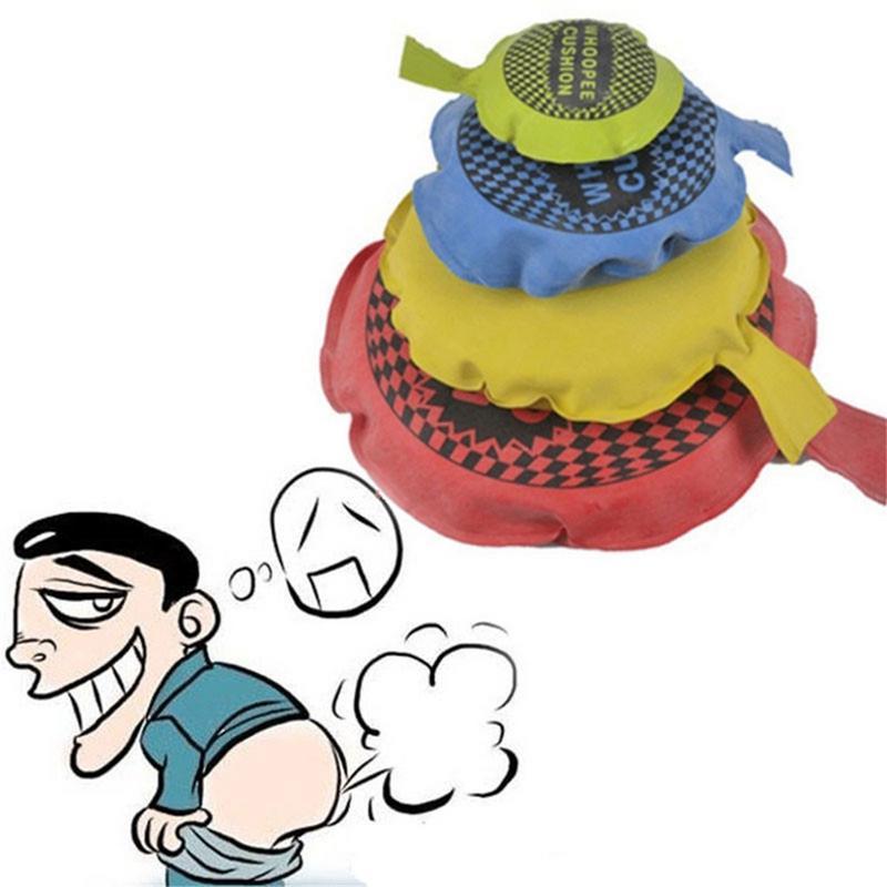 Niños bebé divertido broma Juguetes cojín chistes Gags bromas fabricante truco divertido juguete pedo almohada cojín Perdushka para niño juguetes para adultos