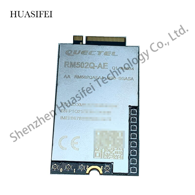 New Quectel RM502Q-AE 5G NR Module M.2 Module Standalone (SA) Non-Standalone (NSA) Modes MIMO USB 3.1 PCIe 3.0 GNSS Receiver