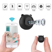 1080P HD Mini Secret WiFi Camera Gizli Kamera Espia Oculta Smart Home Security Monitor Body Action Night Vision Cam Micro Camara